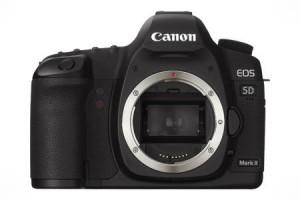 Canon EOS 5D Mark II Full-Frame DSLR