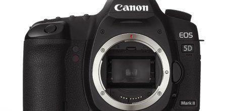 Price Drop Canon EOS 5D Mark II Full-Frame DSLR body only $1979
