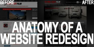 The Anatomy of a Website Redesign