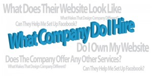 What To Look For When Hiring A Web Design Company