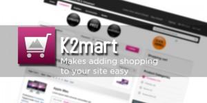 Joomla and k2mart