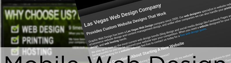 Mobile Web Design: Is Your Site Mobile Friendly?