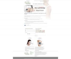 Lipomassage Web Design