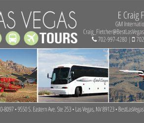 Best Las Vegas Tours Logo & Business Card Design