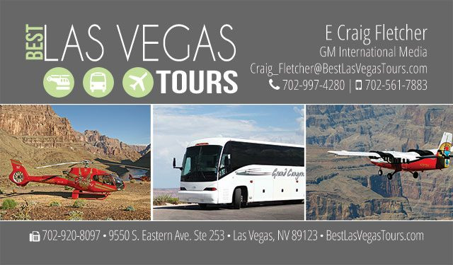 Best Las Vegas Tours Logo & Business Card Design