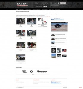 Off-road ecommerce web design