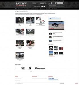Off-road ecommerce web design