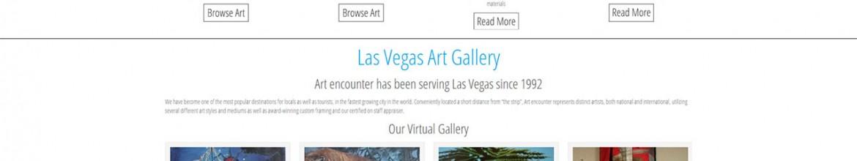 Art encounter eCommerce Web Design