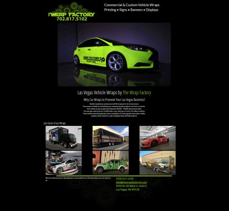 The Wrap Factory Responsive Design