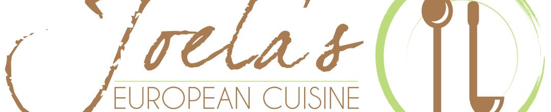 Joela's European Cuisine Logo Design