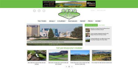Website Redesign – Golf Las Vegas Now