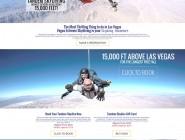 Las Vegas Skydiving Website Redesign